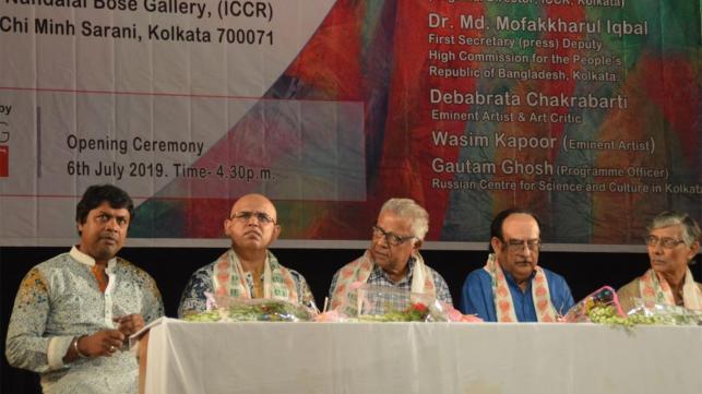 কলকাতায় বাংলাদেশসহ চার দেশের শিশু-কিশোরদের চিত্র প্রদর্শনী