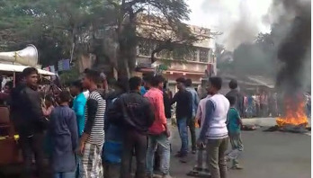 নাগরিকত্ব আইনের বিরুদ্ধে বিক্ষোভ চলছে পশ্চিমবঙ্গে