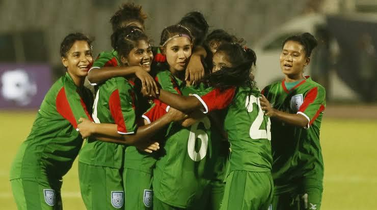দুই বছর পর ফিফা র্যাঙ্কিং-এ বাংলাদেশ নারী ফুটবল দল