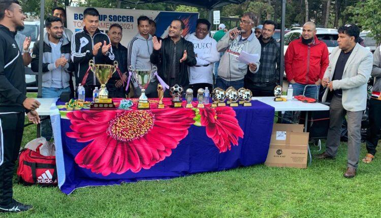 BCSC CUP Soccer Tournament 2021 টুর্নামেন্ট সম্পন্ন